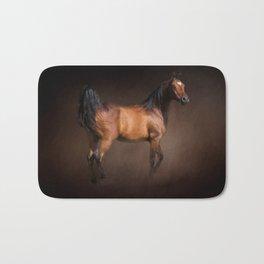 Arabian Bay Horse Bath Mat