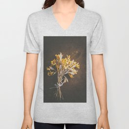 A Bunch Of Daffodils Unisex V-Neck