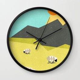 Our land Wall Clock