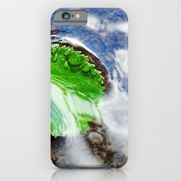 Mountain creek - birch leaf iPhone Case