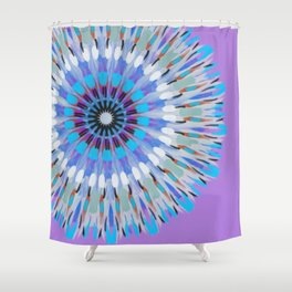 Zentangled 1 Shower Curtain