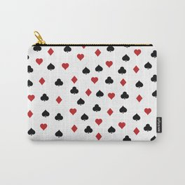 Hearts, clowers, diamonds and spades Carry-All Pouch