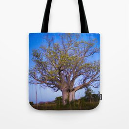 Boab on the Road to Wyndham Tote Bag