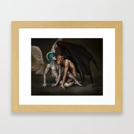 Sacred and Profane Framed Art Print