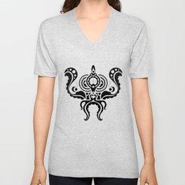 Victorian Octopus Unisex V-Neck