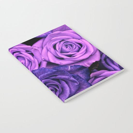 Purple Roses Notebook