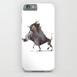 warthog iPhone Case