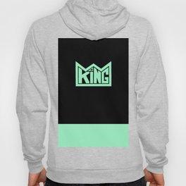 KING teal Hoody