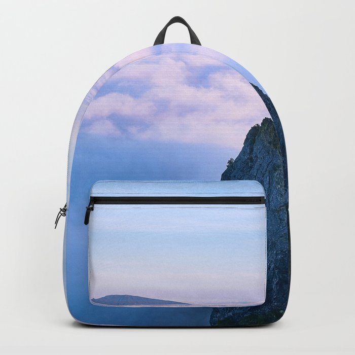 Nature's Cotton Candy Backpack