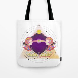 Girl From Mars Tote Bag