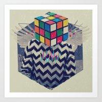 the xx Art Prints featuring XX by Steven Kline