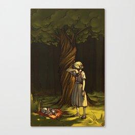 the juniper tree Canvas Print