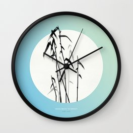[4.20—4.24] Reeds Begin to Sprout Wall Clock