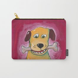 Dog with Bone Carry-All Pouch