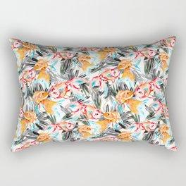 Fish pattern in the sea Rectangular Pillow