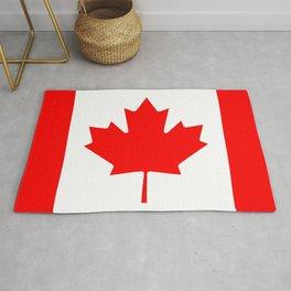 Canadian Flag Rug
