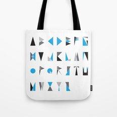 geo type Tote Bag
