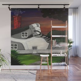Shoe Value Wall Mural