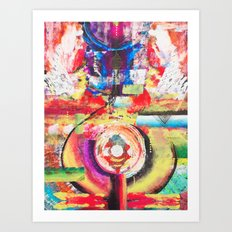 Aliveness Art Print
