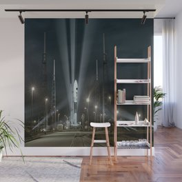 Why Do Rockets Launch At Night Wall Mural