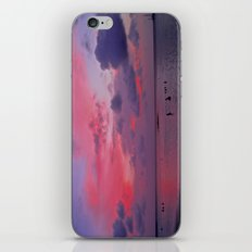 Swimming Towards Sundown iPhone & iPod Skin
