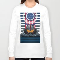 pacific rim Long Sleeve T-shirts featuring Pacific Rim v2 by milanova