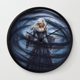 Dark Swan Wall Clock