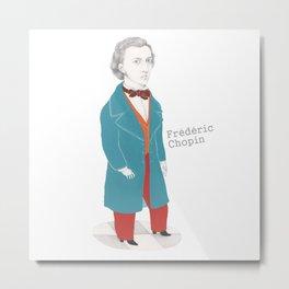 Fédéric Chopin Metal Print