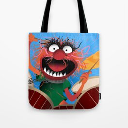 Animal Muppets' Drummer Tote Bag