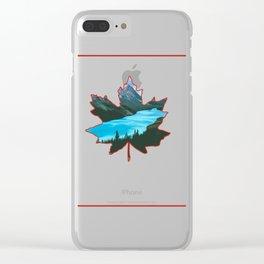 Canada  the beautifu Clear iPhone Case