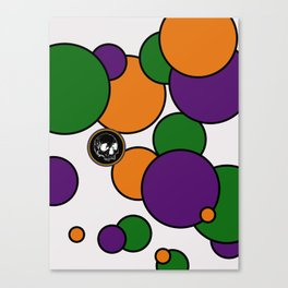In My Bubble Canvas Print