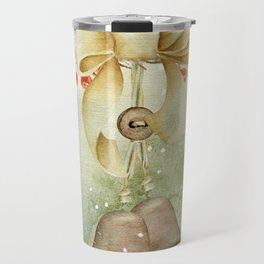 Christmas vintage bell Travel Mug