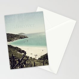 discover. {Arraial do Cabo Stationery Cards