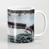 oslo Mugs featuring Oslo by Infra_milk
