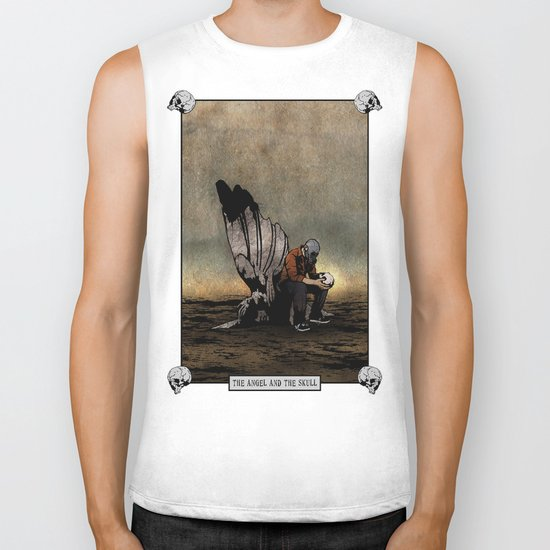 The Angel And The Skull Biker Tank