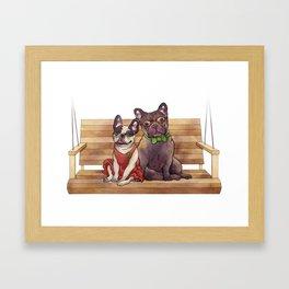 Bella & Gatsby Framed Art Print
