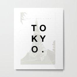 Tokyo. Metal Print