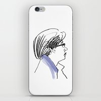 subway iPhone & iPod Skins featuring Subway by Ryan Ly