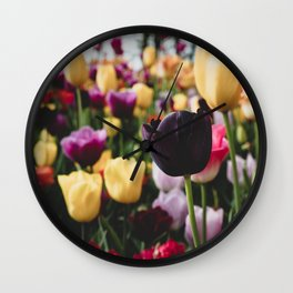 The Flourish Image 1.0 Wall Clock