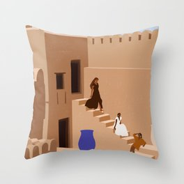 Great Escapes Throw Pillow