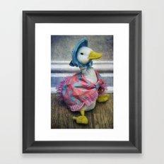Jemima Puddle Duck Framed Art Print