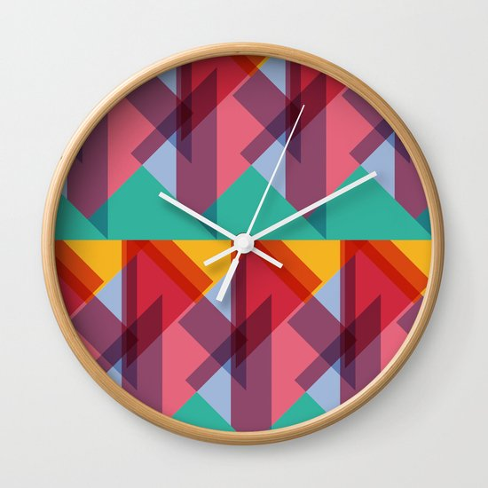 Crazy Abstract Stuff 3 Wall Clock