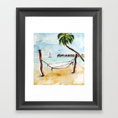 Moorea Framed Art Print