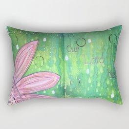 Jehovah Rapha Rectangular Pillow