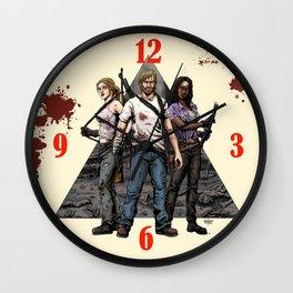 Walking Dead Trinity Wall Clock