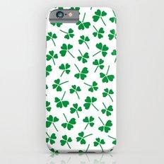 Retro clover iPhone 6s Slim Case