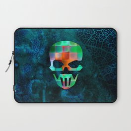 CHECKED DESIGN II - SKULL Laptop Sleeve