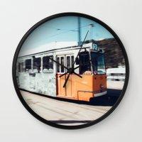 budapest Wall Clocks featuring Budapest by Johnny Frazer