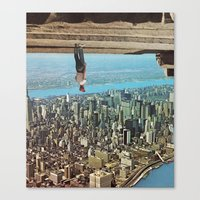 gravity Canvas Prints featuring 'Gravity' by Thom Easton