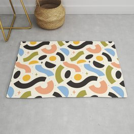 Macaroni Sky Multi Color Rug